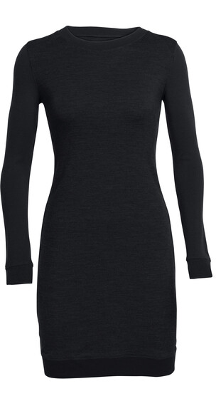 Icebreaker W's Meadow Dress Black/Black/Black